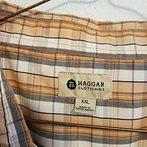 Haggar Shirts - EUC Haggar bundle of XXL casual button down shirts